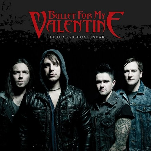 Calendario 2017 Calendar 2014 - BULLET FOR MY VALENTINE
