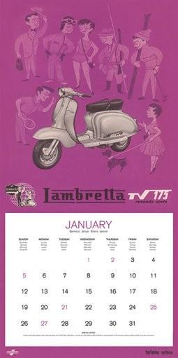 Calendario Vespa 2020.Calendario 2020 Calendar 2014 Lambretta