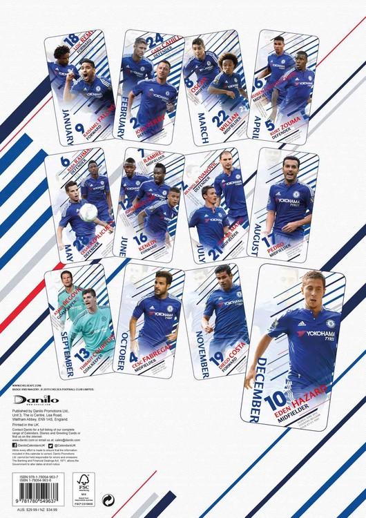 Chelsea Calendario.Calendario 2020 Chelsea Fc