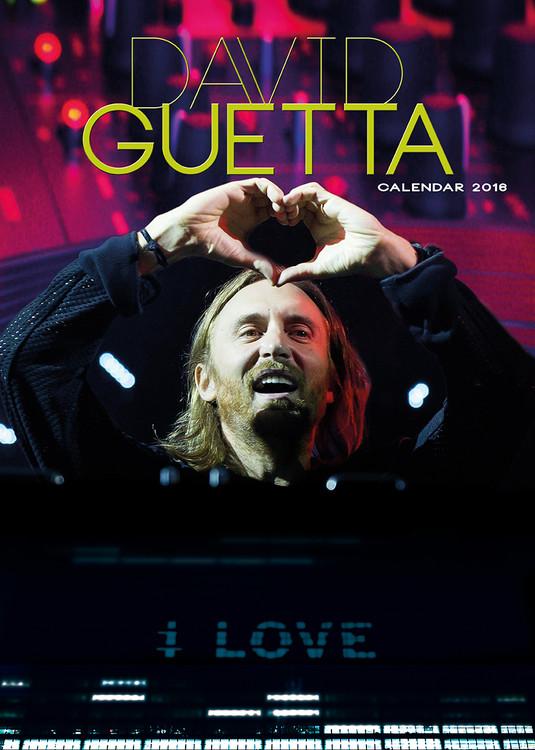 Calendario 2017 David Guetta