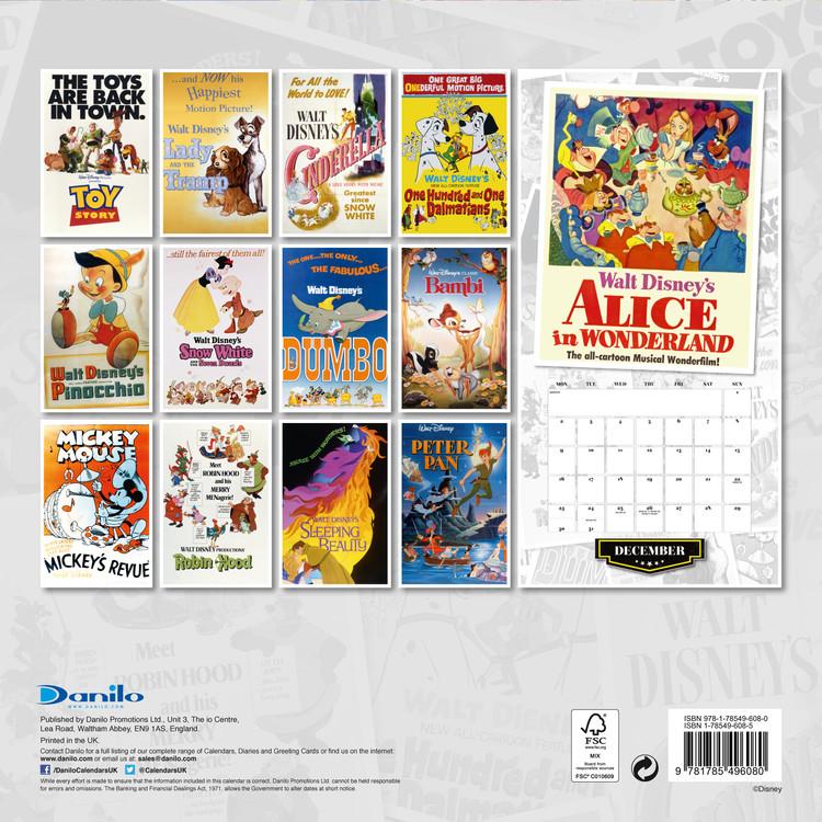 Calendario Principesse 2020.Calendario 2020 Disney