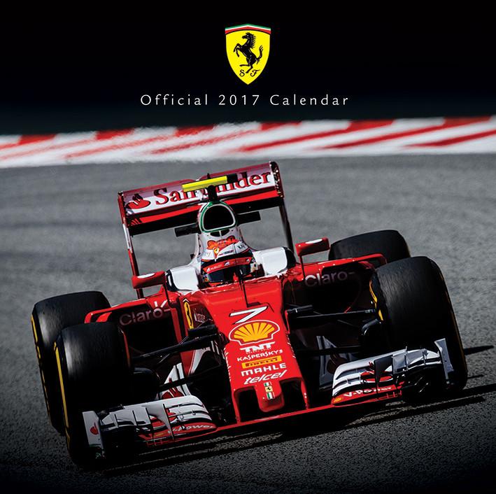 Formula 1 Calendario.Calendario 2020 Ferrari F1 2017 Europosters It