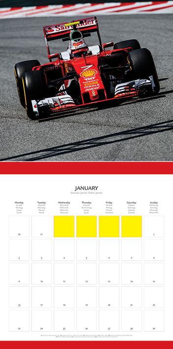 F1 Calendario 2020.Calendario 2020 Ferrari F1 2017