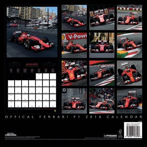 Calendario Di F1 2020.Calendario 2020 Ferrari F1