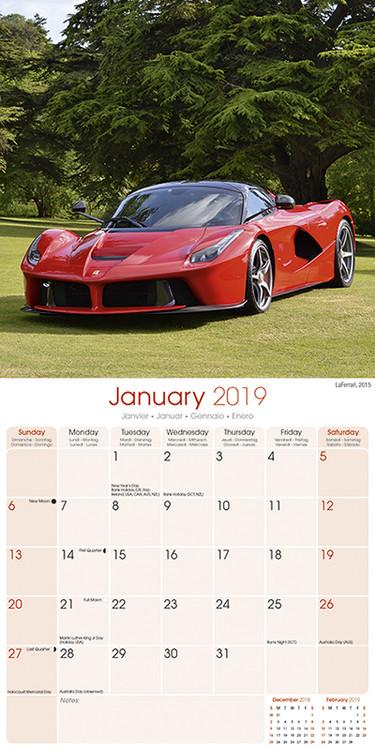 Calendario 2021 Ferrari   EuroPosters.it