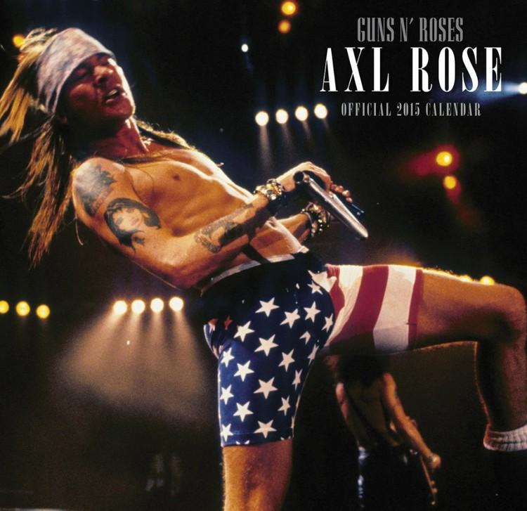 Calendario 2017 Guns N' Roses