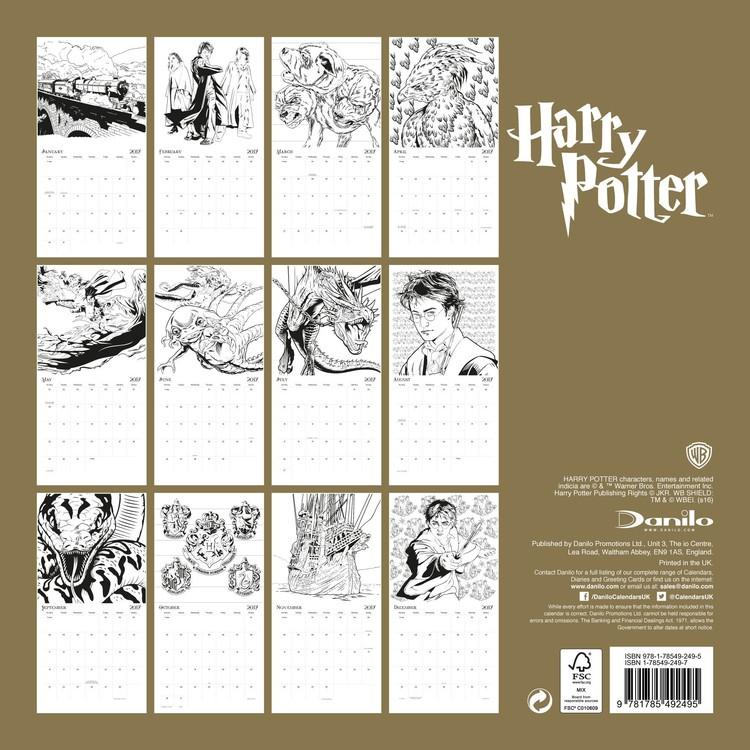 Calendario Harry Potter   EuroPosters.it
