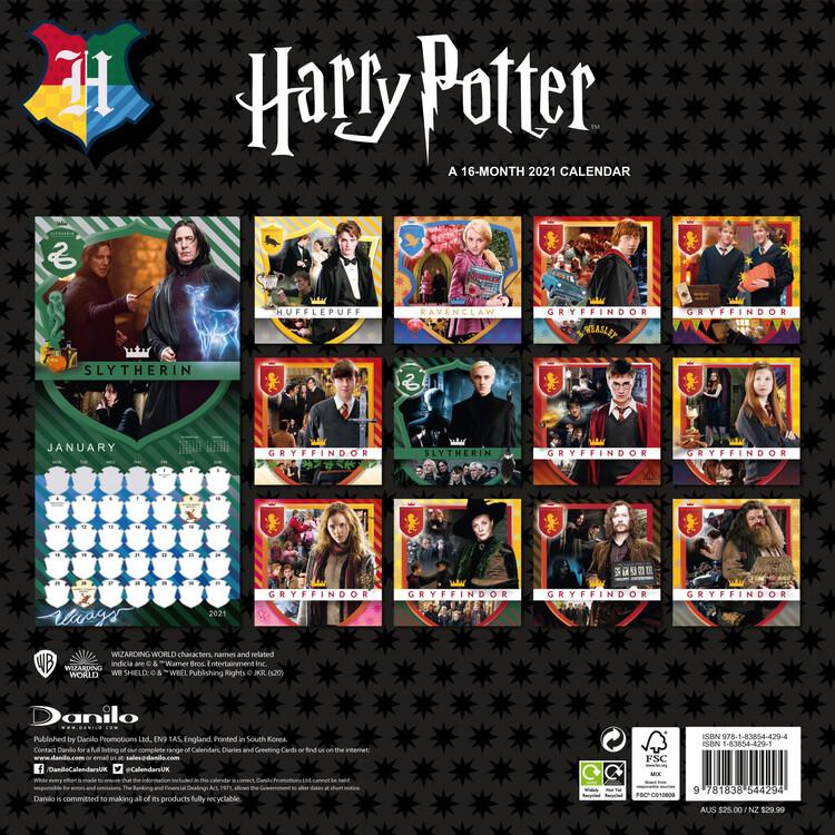 Calendario 2021 Harry Potter   EuroPosters.it