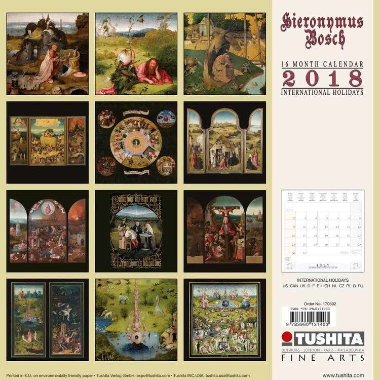 Calendario Religioso 2020.Calendario 2020 Hieronymus Bosch