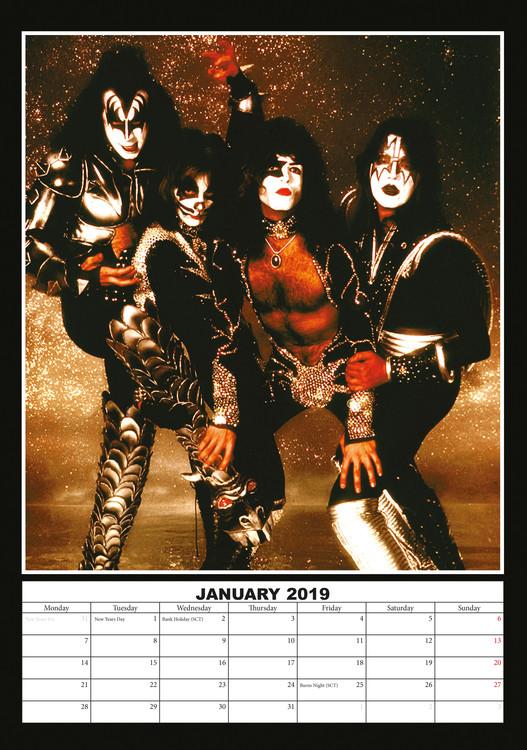 Poster Calendario 2020.Calendario 2020 Kiss