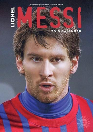 Calendario 2017 Lionel Messi