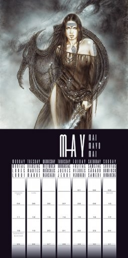 Calendario 2019  Luis Royo