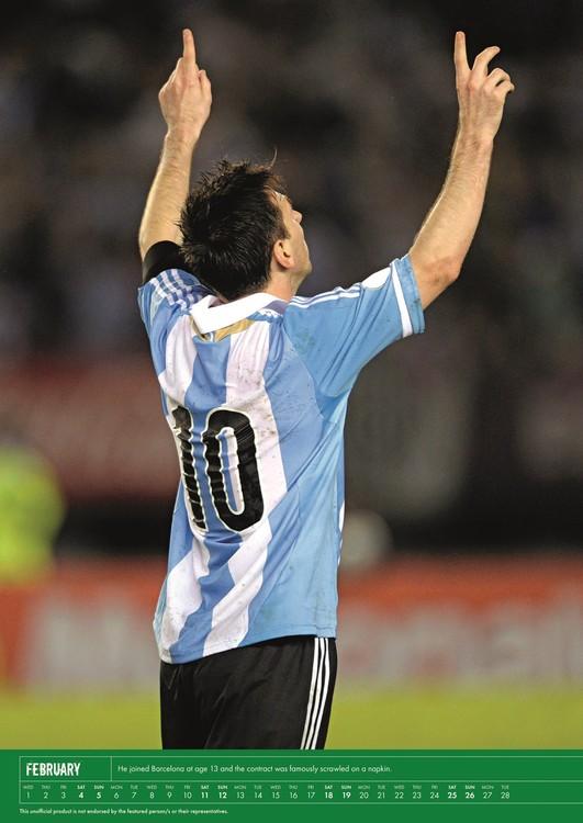 Athletic Calendario 2020.Calendario 2020 Messi