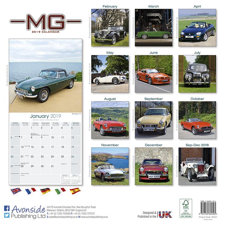 Calendario F2.Calendario 2020 Mg