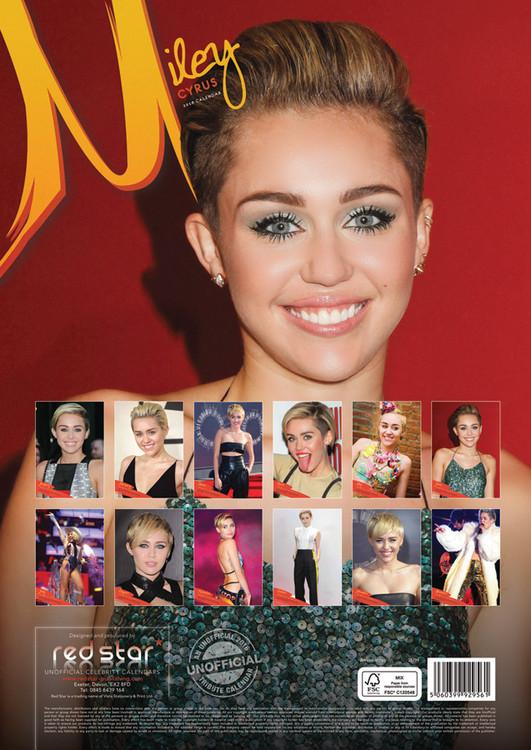 Calendario 2019  Miley Cyrus