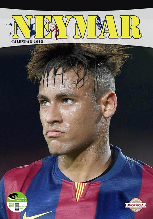Calendario 2017 Neymar