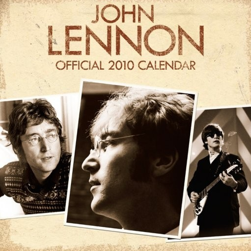 Calendario 2017 Official Calendar 2010 John Lennon