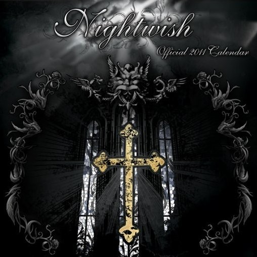Calendario 2017 Official Calendar 2011 - NIGHTWISH