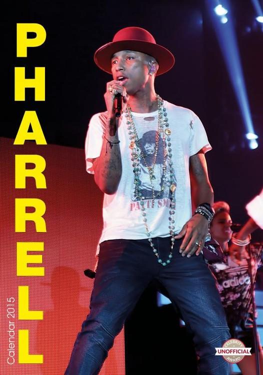 Calendario 2017 Pharrell Williams