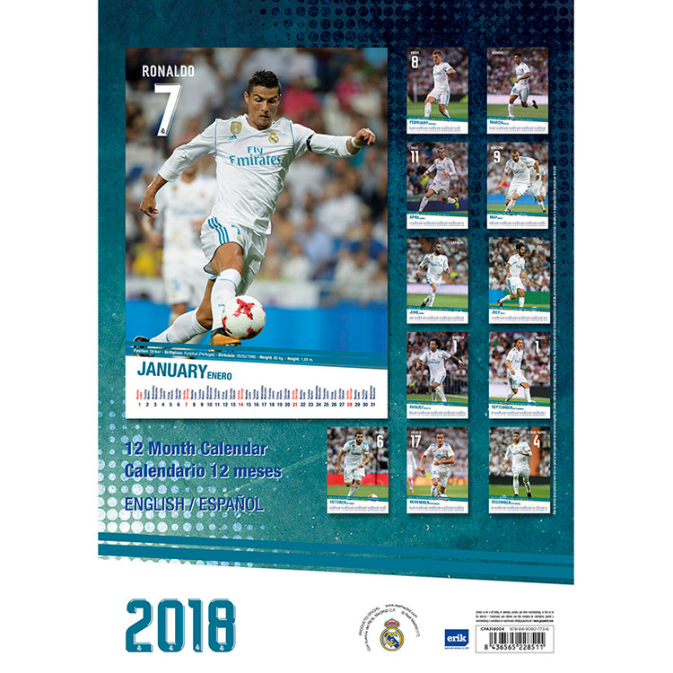 Calendario Sport.Calendario 2020 Real Madrid