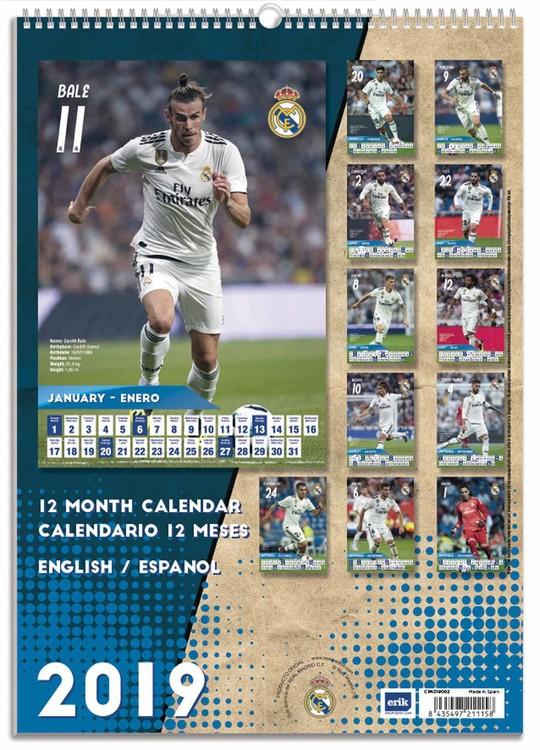 Calendario Real Madrid.Calendario 2020 Real Madrid