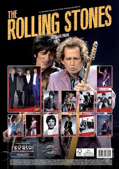 Calendario 2018  Rolling Stones