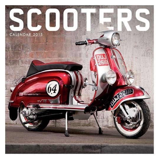 Calendario 2017 Scooter