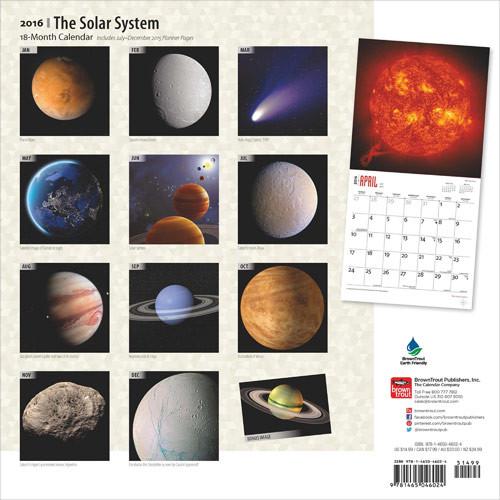 Calendario Solare 2020.Calendario 2020 Sistema Solare