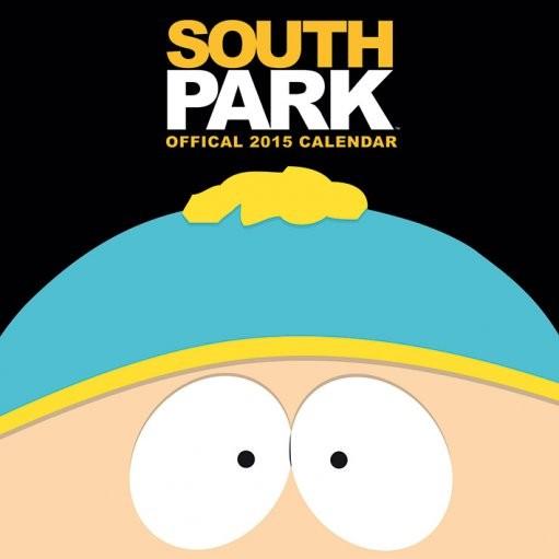 Calendario 2017 South Park