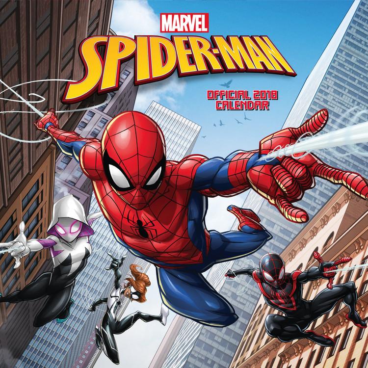 Calendario 2018  Spiderman