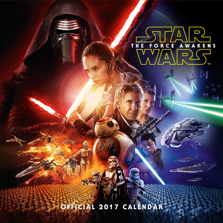 Calendario 2018 Star Wars, Episodio VII