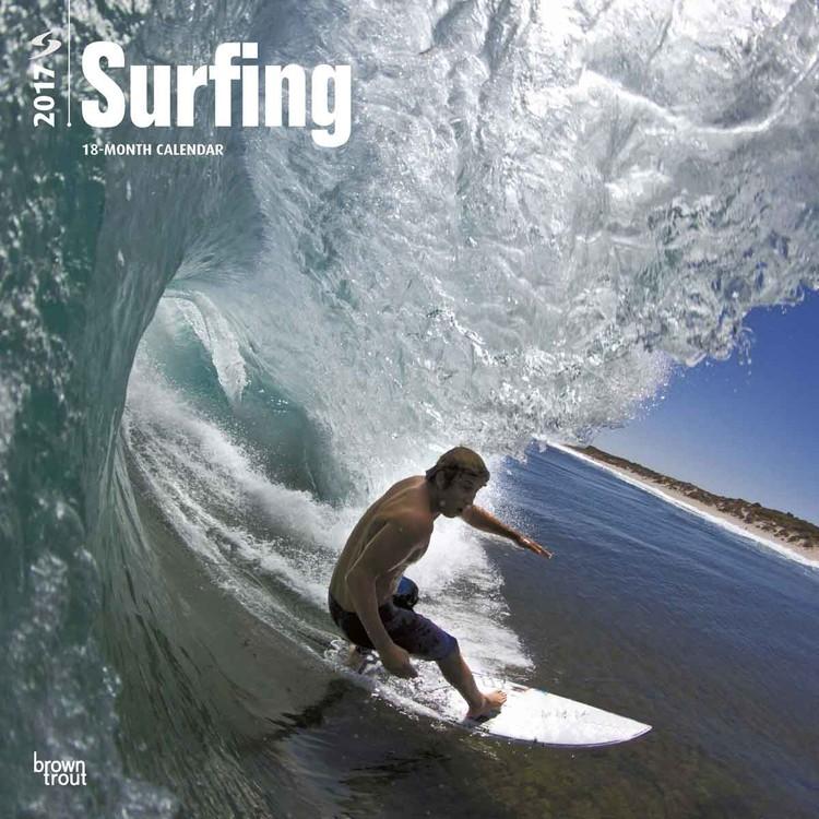 Calendario 2017 Surfing
