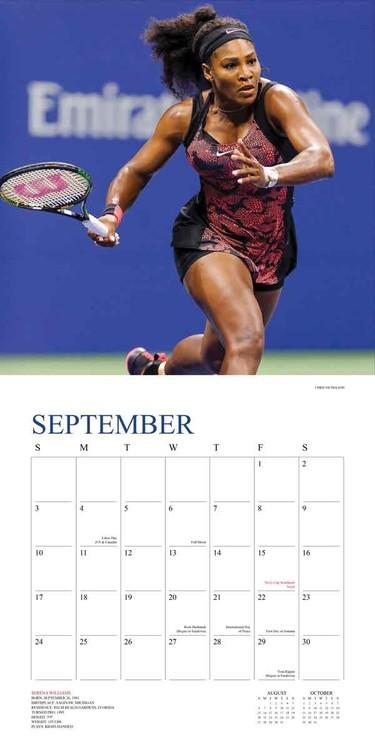Calendario 2021 Tennis The U.S. Open   EuroPosters.it