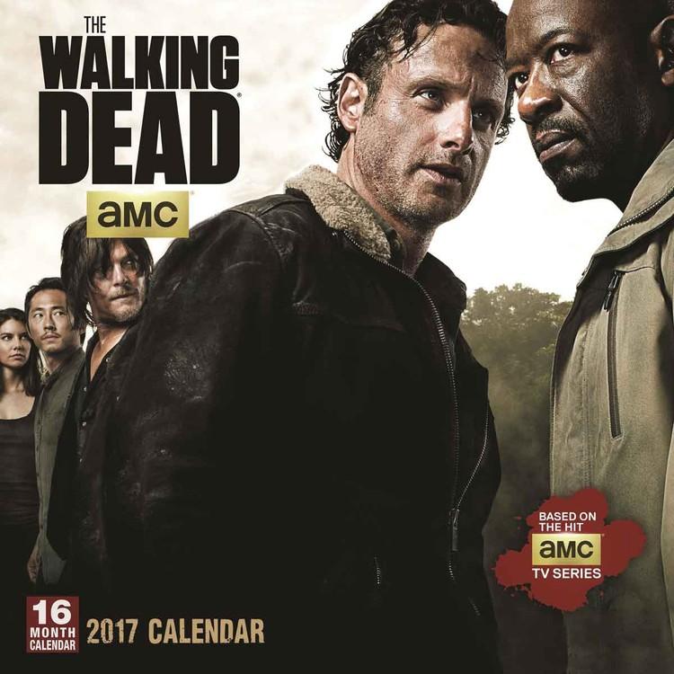 Calendario 2017 The Walking Dead