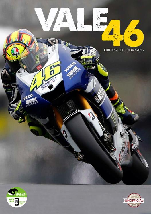 Calendario 2017 Valentino Rossi