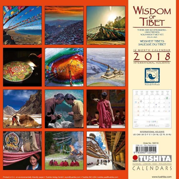 Calendario Tibetano.Calendario 2020 Wisdom Of Tibet