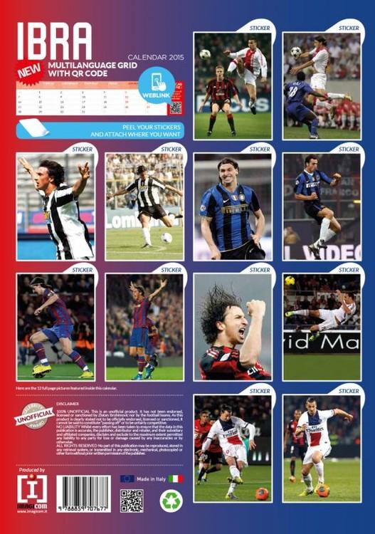 Athletic Calendario 2020.Calendario 2020 Zlatan Ibrahimovic