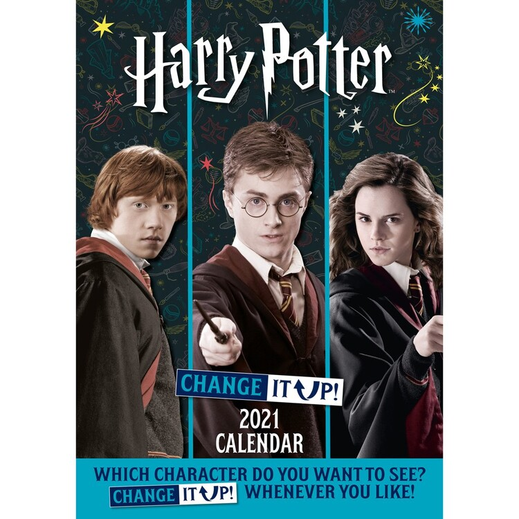 Calendar 2021 Harry Potter - Change It Up