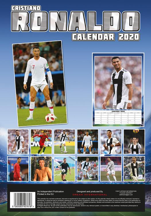 Calendar 2020  Cristiano Ronaldo
