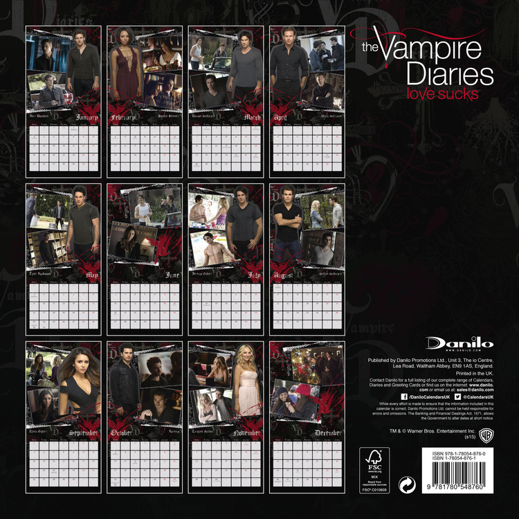 Calendar 2020  Crónicas vampíricas