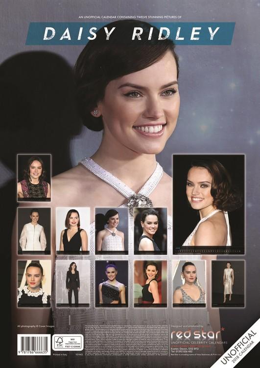 Calendar 2019  Daisy Ridley