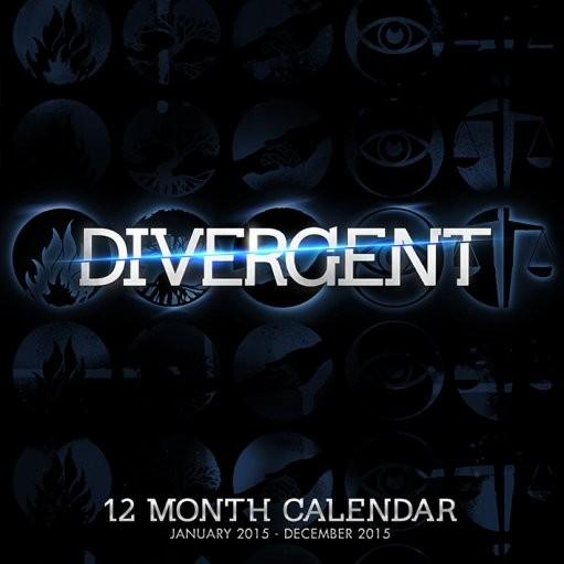 Calendar 2018 Divergente