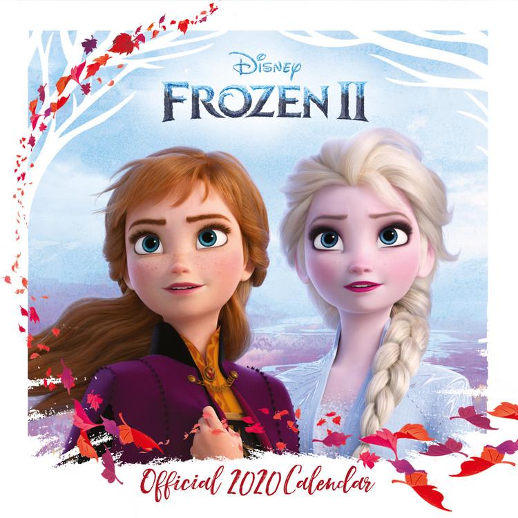 Calendar 2020  Frozen, el reino del hielo 2