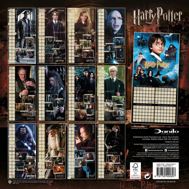 Calendario Harry Potter.Calendar 2020 Harry Potter