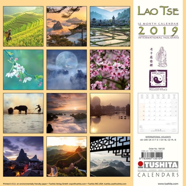 Calendar 2019  Lao Tse