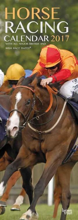 Calendar 2017 Las carreras de caballos