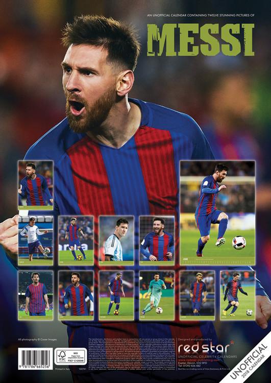 Lionel Messi - Calendarios 2021