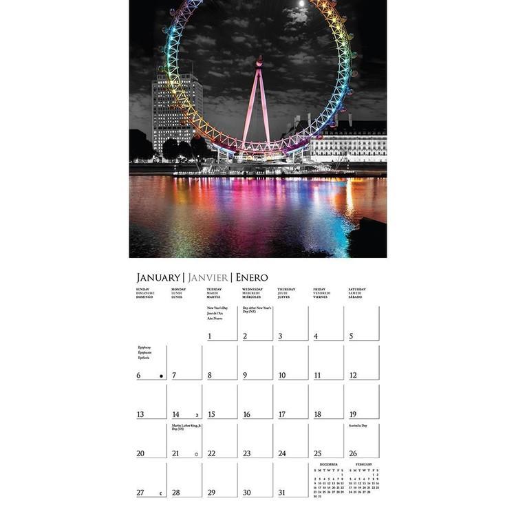 Calendar 2020  London - Glitz