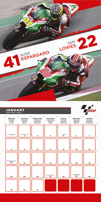 Calendario Gp.Calendar 2020 Moto Gp
