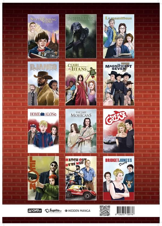 Calendar 2019  Movie Calendar 2019 - A Tribute To Movie Classics